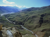 Caucus Mountains  Azerbaijan  Central Asia