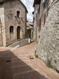 Vicoli  Side Streets  Assisi  Umbria  Italy  Europe