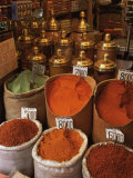 Spices in the Market  Istanbul  Turkey  Europe