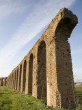 Felice Aqueduct  Along the Via Appia  Rome  Lazio  Italy  Europe