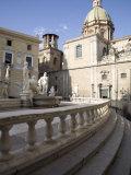 Fontana Pretoria  Palermo  Sicily  Italy  Europe