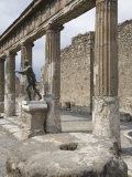 Temple of Apollo  Pompeii  UNESCO World Heritage Site  Campania  Italy  Europe