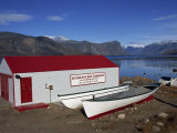 Hudson Bay Company Building  Pangnitung  Baffin Island  Canadian Arctic  Canada  North America