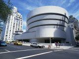 Guggenheim Museum  Manhattan  New York City  United States of America  North America