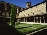 Cloister of Le Couvent Des Augustins  14th C  Augustins Museum  Toulouse  Midi-Pyrenees  France