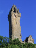 Wallace Monument  Stirling  Central  Scotland  United Kingdom  Europe