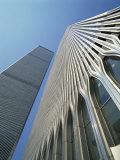 World Trade Center's Twin Towers  Prior to 11 September 2001  Manhattan  New York City  USA