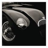 Jaguar C-Type Reproduction d'art par Retro Classics
