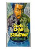 Charlie Chan on Broadway  Top Center: Warner Oland  1937