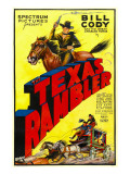 The Texas Rambler  Top Half: Bill Cody  1935