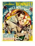What Price Hollywood  Neil Hamilton  Constance Bennett on Window Card  1932