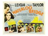 Waterloo Bridge  Robert Taylor  Vivien Leigh  1940