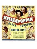Hellzapoppin'  Ole Olsen  Chic Johnson  Martha Raye  Hugh Herbert  Mischa Auer on Window Card  1941