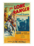 The Lone Ranger  Lee Powell   Chief Thundercloud  in 'Episode 3: the Pitfall'  1938  Serial