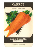 Carrot Seed Packet