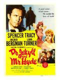 Dr Jekyll and Mr Hyde  Spencer Tracy  Ingrid Bergman  Lana Turner  1941