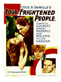 Four Frightened People  Claudette Colbert  Herbert Marshall  1934