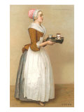 Dutch Maid Carrying Chocolate
