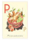 P is for Pears
