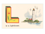L is a Lighthouse