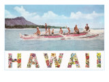 Hawaii  Outrigger at Diamond Head
