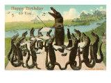 Happy Birthday  Alligator Chorus