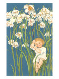 Baby in Snowdrops