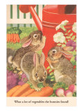 Bunnies and Vegetables