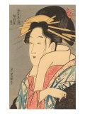 Japanese Woodblock  Lady's Portrait
