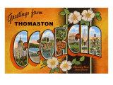 Greetings from Thomaston  Georgia