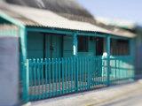 Houses in Coastal Fishing Village  San Felipe  Yucatan  Mexico
