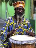 Rasta Jamaican Reggae Performer  St John  Antigua