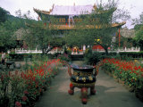 Temple Beauty of Bamboo Village  Kunming  China