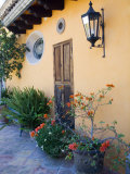 Exterior of a Home  San Miguel  Guanajuato State  Mexico