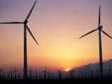 Wind Generators  Palm Springs  California  USA