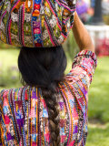 Colorful Patterned Clothes  Solola  Guatemala