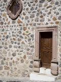 Unusual Stone Wall  San Miguel  Guanajuato State  Mexico