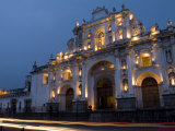 Cathedral in Square  Antigua  Guatemala