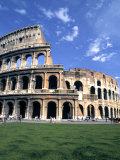 Colosseum Ruins  Rome  Italy