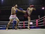 Thai Kickboxing Demonstration  Chiang Mai  Thailand
