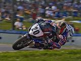 Motorcycle Racer  Mid Ohio Raceway  Lexington  Ohio  USA