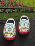 Painted Wooden Shoe  Keukenhof Gardens  Lisse  Netherlands