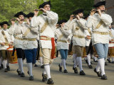 Drum And Fife Parade  Williamsburg  Virginia  USA