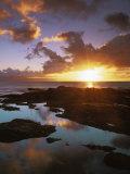 Sunset from Napili Point  Maui  Hawaii  USA