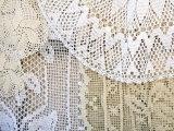 Traditional lace curtain  Dubrovnik  Dalmatia  Croatia
