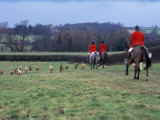 The Quorn Fox Hunt  Leicestershire  England