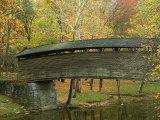 Humpback Covered Bridge  Covington  Virginia  USA