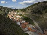 Ortigosa village  Sierra de Camero Nuevo Mountains  La Rioja  Spain