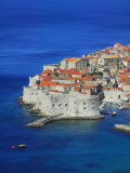 Shores of Adriatic Sea  Dubrovnik  Croatia