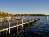 View of Lake Winnipesauke  Wolfeboro  New Hampshire  USA